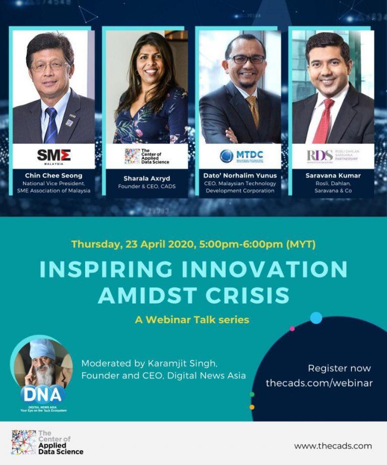 [23 April 2020] Inspiring Innovation Amidst Crisis